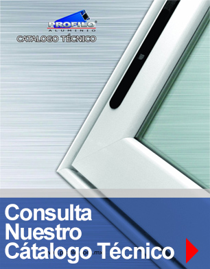 boton catalogo tecnico profilo perfiles herrajes maquinaria para canceleria de aluminio mexico jalisco guanajuato guadalajara zapopan