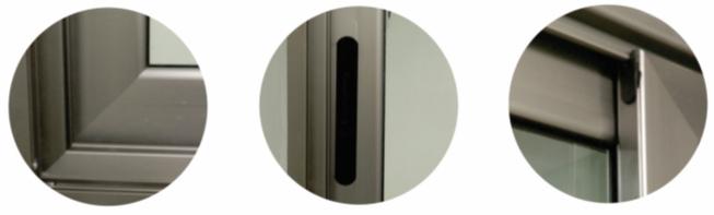 detalles serie finestra profilo aluminio herrajes puertas ventanas jalisco mexico aguas calientes