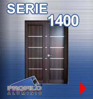 serie 1400 profilo aluminio jalisco mexico ventanas puertas