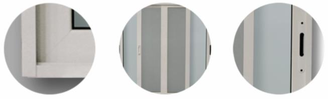 detalles serie piccola profilo aluminio herrajes puertas ventanas jalisco mexico aguas calientes