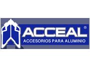 logo acceal profilo aluminios canceleria de aluminio y maquinaria para herrajes mexico jalisco aguascalientes